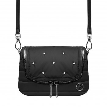 Sac a Main Poivre Blanc Belt Bag 9096 rivet black Femme