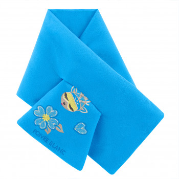 Echarpe Poivre Blanc Fleece Scarf 1590 artic blue Fille