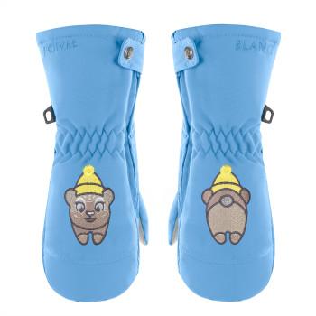 Moufles de Ski Poivre Blanc SkiMittens 1073 polar blue Fille