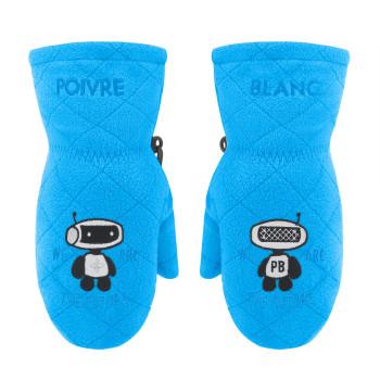 Moufles polaire Poivre Blanc FleeceMittens 1577 artic blue Mixte