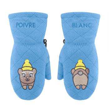Moufles polaire Poivre Blanc FleeceMittens 1577 polar blue Mixte
