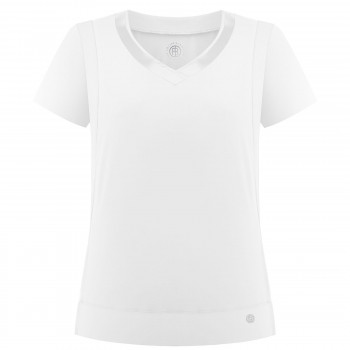 T-Shirt Poivre Blanc Stretch Performant 2702 White Femme