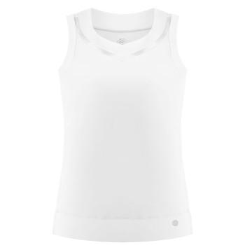 Débardeur Poivre Blanc Stretch Performant 2701 White Femme
