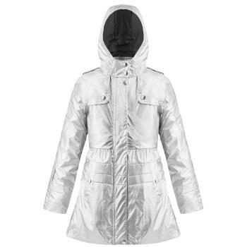 Manteau de Pluie Poivre Blanc Brillant 3-En-1 2300 Glow Grey Fille