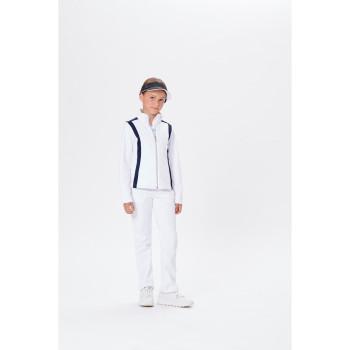 Veste Poivre Blanc 4701 White Oxford Blue 2 Fille