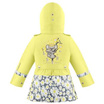 Manteau de Pluie Poivre Blanc Floral 2300 Aurora Yellow Daisy Yellow Fille