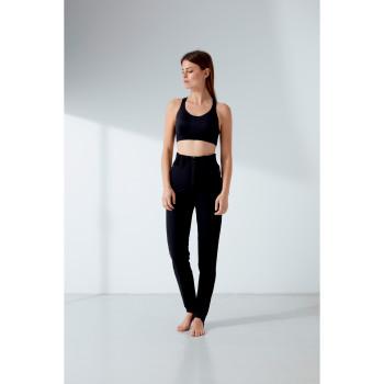 Pantalon De Ski Softshell a Coupe Ajustée 1123 Poivre Blanc Black Femme