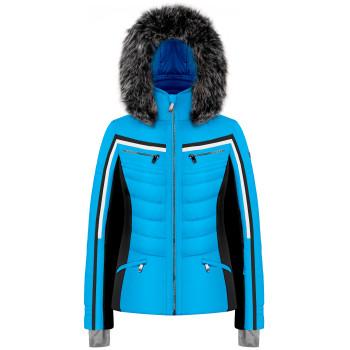 Veste De Ski Look Sportif Poivre Blanc 1002 Diva Blue Femme