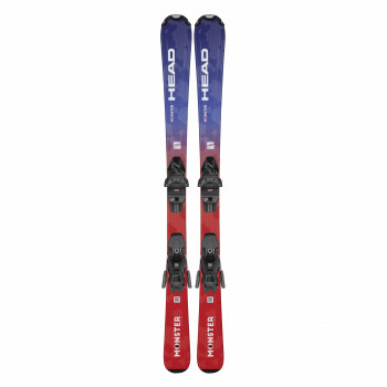 Pack Ski Head Monster Easy Jrs + Fixations Jrs 4.5 Gw Ca Homme