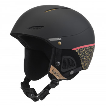 Casque de Ski/Snow Bollé Juliet Black Rose Gold 52-54