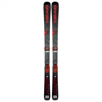 Pack Ski Head MONSTER 88 + Fixations ATTACK 13 GW rd