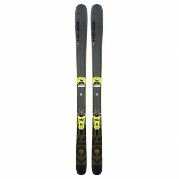 Pack Ski Head Kore 93 + Fixations Attack 11 Mn Demo Homme