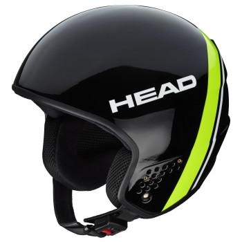 Casque de Ski Head STIVOT RACE Carbon black/lime
