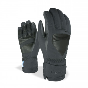 Gants Ski / Snow Level I-Super Radiator Gore-Tex Homme Noir