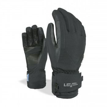Gants Ski / Snow Level I-Super Radiator W Gore-Tex Femme Noir