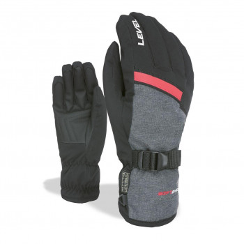 Gants de Ski / Snow Level Hero Homme Noir