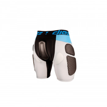 Short de protection Ski/Snow Diezz Black Light Grey