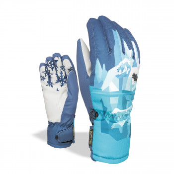 Gants de Ski / Snow Level Bliss Coral - Bleu Clair