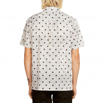 Chemise Volcom CROSSED UP WHITE Homme