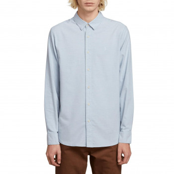 Chemise Volcom OXFORD STRETCH WRECKED INDIGO Homme