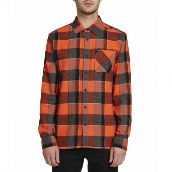 Chemise Volcom NEO GLITCH L/S Orange