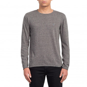 Pull Volcom FAINE CREW HEATHER GREY Homme