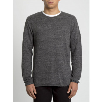 Pull Volcom Uperstand Heather Grey Homme