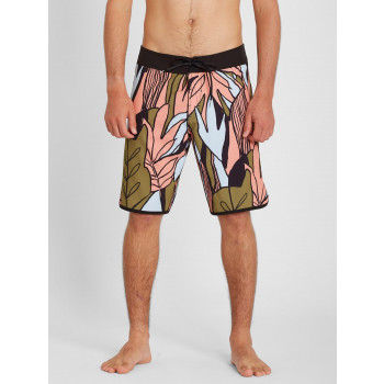 """Boardshort Volcom Mod Lido Scallop 20"""" Old Mill Homme"""