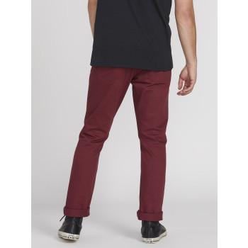 Pantalon Volcom VORTA 5 POCKET SLUB Pinot Homme