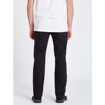 Jean Volcom Solver Tapered Black Out Homme