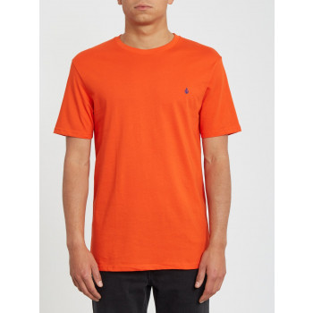 T-Shirt Manches Courtes Volcom STONE BLANKS Pepper Red Homme