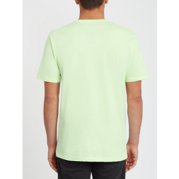 T-Shirt Manches Courtes Volcom DIRTY DAY Key Lime Homme