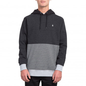 Sweat Volcom FORZEE SULFUR BLACK Homme