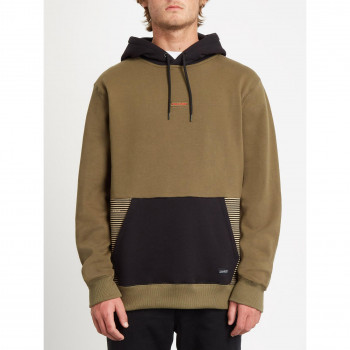 Sweat a Capuche Volcom Forzee P/O Military Homme