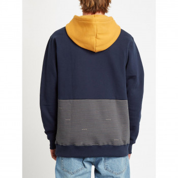 Sweat a Capuche Volcom Forzee P/O Navy Homme