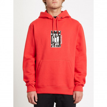 Sweat a Capuche Volcom Merick P/O Fiery Red Homme