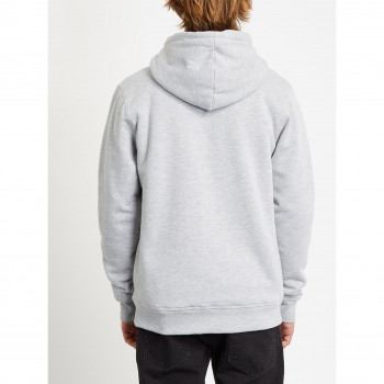 Veste a Capuche Volcom Sngl Stn Lined Heather Grey Homme