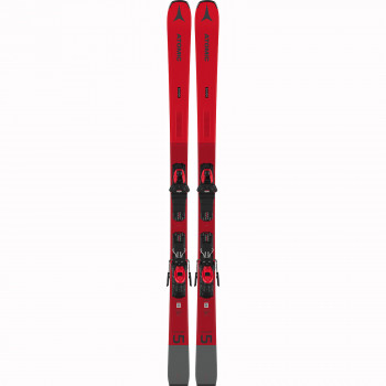 Pack Ski Atomic Savor 5 Red + Fixations M 10 Gw Homme