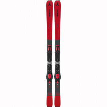 Pack Ski Atomic Savor 3 + Fixations M 10 Gw Grey/Red Homme