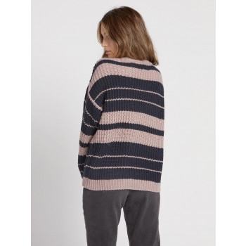 Pull Volcom Move On Up Faded Mauve Femme