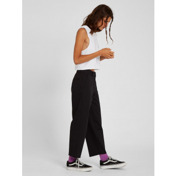 Pantalon Volcom Chino Whawhat Black Femme
