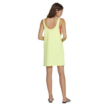 Robe Volcom Neon And On Dress Neon Yellow Femme