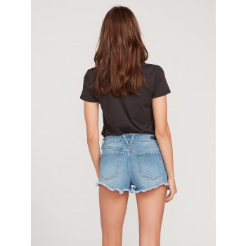 Short Volcom STONEY STRETCH Blue Relic Femme