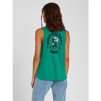 Débardeur Volcom Frontye Synergy Green Femme