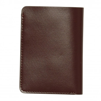 Portefeuille Volcom THE CLASSIC LTH CARD WALLET BROWN Homme