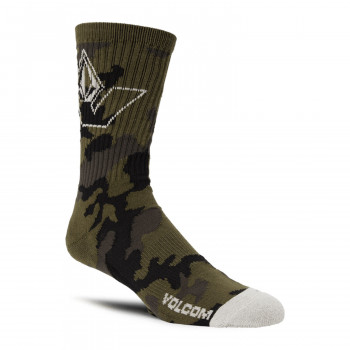 Chaussettes Volcom Vibes -Military