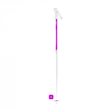 Baton de Ski Kerma VECTOR TEAM GIRL Junior Blanc