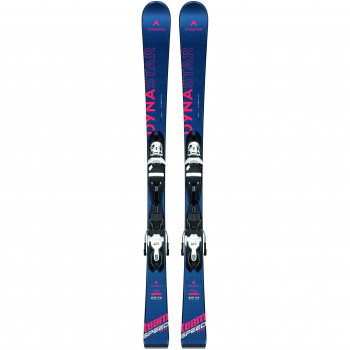 Pack Ski Dynastar TEAM SPEEDZONE + Fixations XP JR7 Bleu Homme