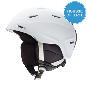 Casque de Ski/Snow Smith ASPECT MATTE WHITE