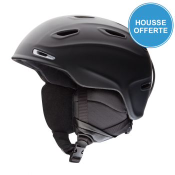 Casque de Ski/Snow Smith ASPECT MATTE BLACK